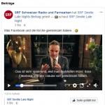 Sollte SRF nun Facebook verlassen?